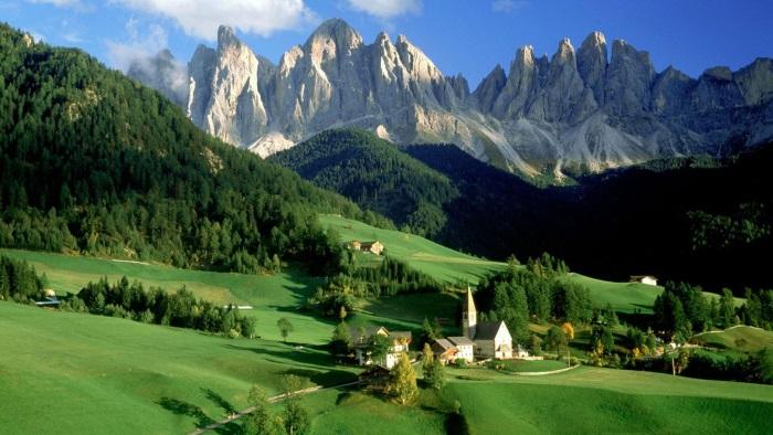 Австрия: Культура и достопримечательности Тироля